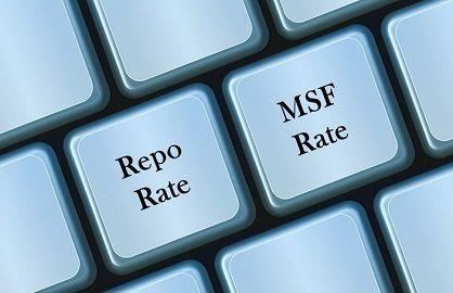 repo rate vs msf rate