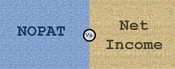 NOPAT vs Net Income