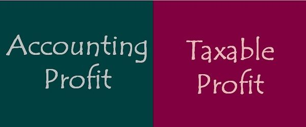 Accounting Profit Vs Taxable Profit