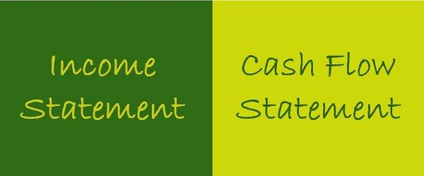 Income Statement vs Cash Flow Statement