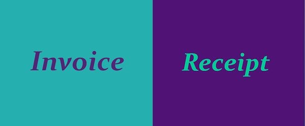 Difference Between Invoice And Receipt With Comparison Chart Key - Invoice or receipt