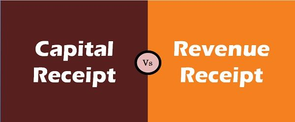 Capital Receipt Vs Revenue Receipt