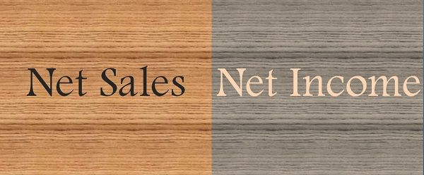 Net Sales Vs Net Income