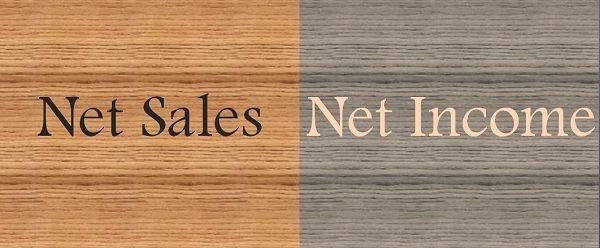 Net Sales Vs Net Income