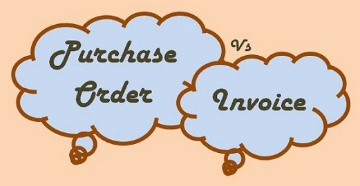 purchase order and invoice