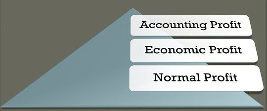 Difference Between Accounting, Economic and Normal Profit