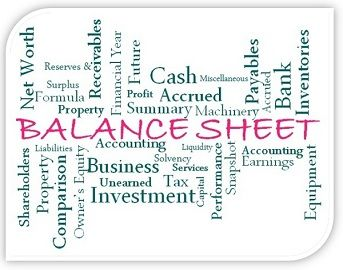 balance sheet vs consolidated balance sheet