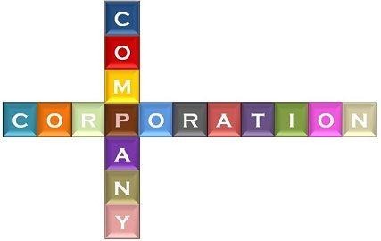 company vs corporation