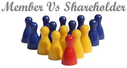 members vs shareholders