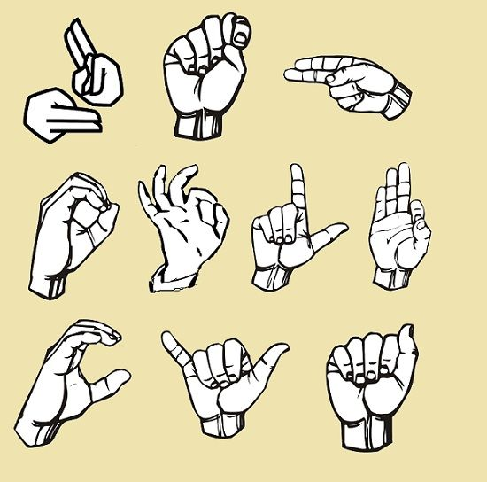 difference between verbal and nonverbal communication sign language