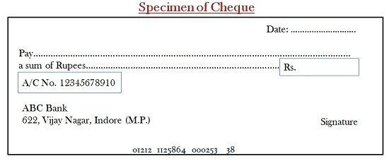 Difference Between Cheque and Bill of Exchange with Similarities – Bill of Exchange Sample