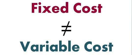 difference between fixed budget and flexible budget