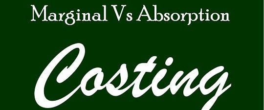 differences between absorption costing and abc Abc vs traditional costing the difference between abc or activity based costing and tca or traditional cost if abc replaces traditional full absorption.