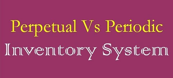 periodic vs perpetual inventory system