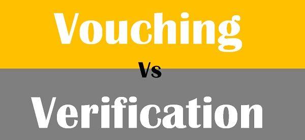 Vouching Vs Verification