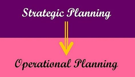 strategic vs operational planning