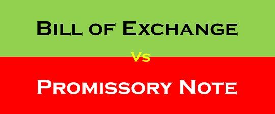 Difference Between Bill of Exchange and Promissory Note with – Promissory Note Parties