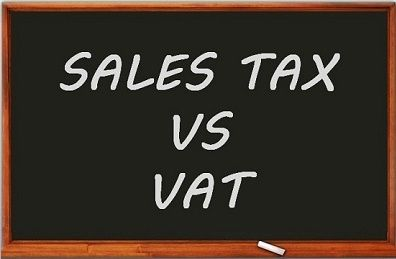sales tax vs vat
