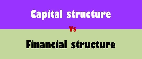 Capital Structure Vs Financial structure