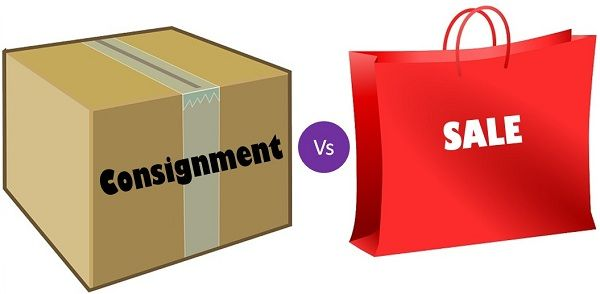 Consignment Vs Sale