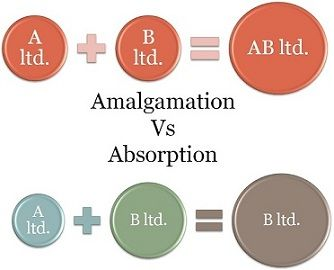 amalgamation vs absorption