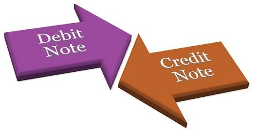 debit note vs credit note
