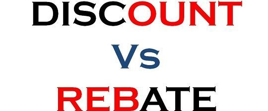 similarities and differences between coupons and rebates