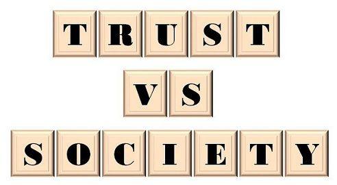 trust vs society