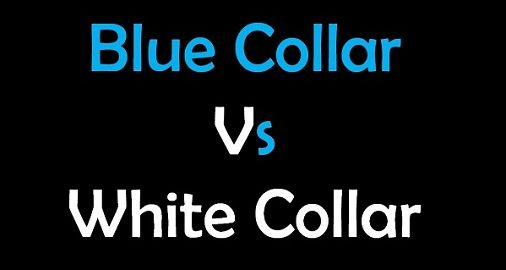 blue collar vs white collar