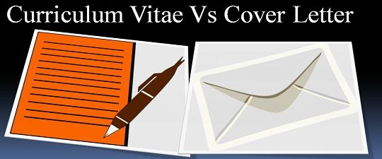 Difference Between CV And Cover Letter With Comparison