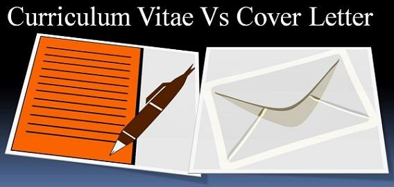 Difference Between Cv And Cover Letter With Comparison Chart