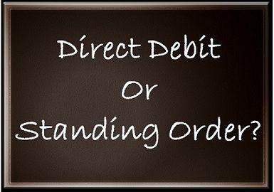 Direct Debit Vs Standing Order