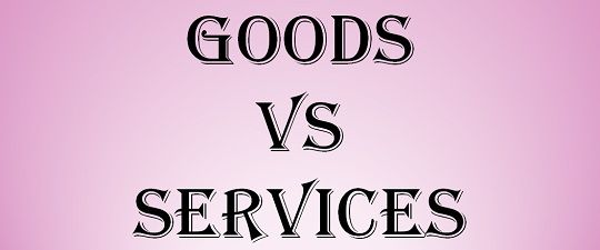 Difference Between Goods and Services (with Comparison Chart