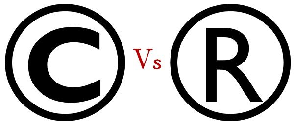 difference between copyright and trademark (with comparison chart Copyright Symbol copyright vs trademark