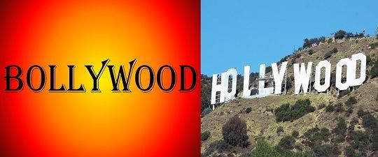 difference between bollywood and hollywood  with