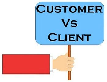 Client Vs Customer