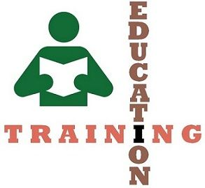 education vs training