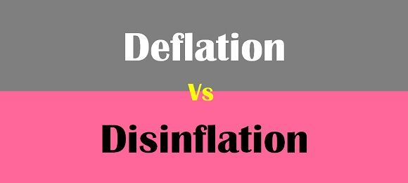 deflation vs disinflation