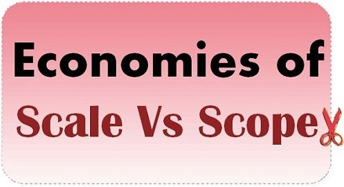 internal and external economies of scale with examples