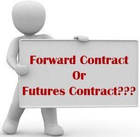 forward vs future contract