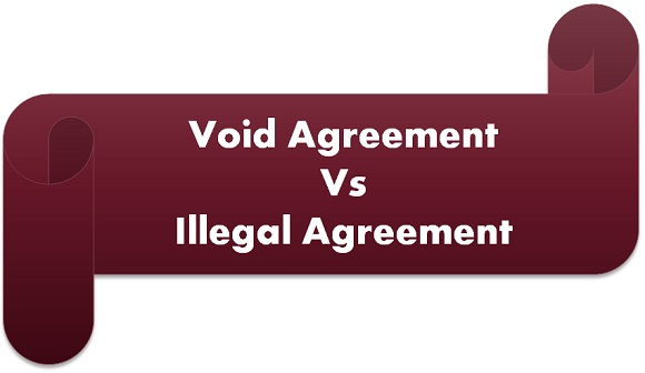 void vs illegal agreement