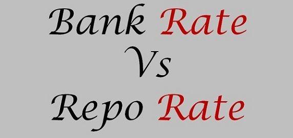 bank rate vs repo rate
