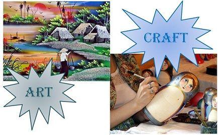 art vs craft