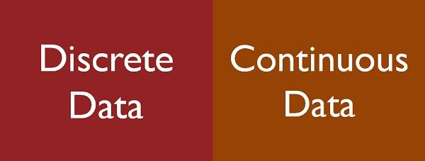 discrete vs continuous data