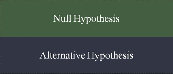 null hypothesis and alternative hypothesis pdf