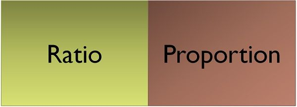 ratio vs proportion