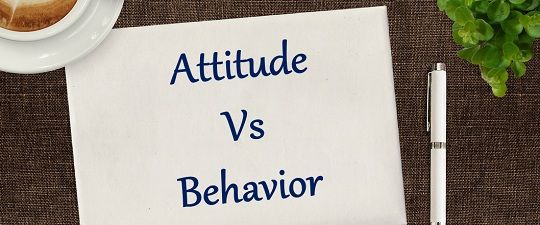 behavior vs attitude Attitudes & behavior 1 does attitude affect behavior 2 introduction - who's talking • matthijs roumen, 21, from the netherlands.