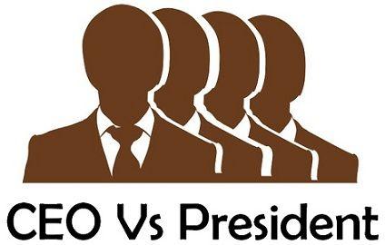 ceo vs president