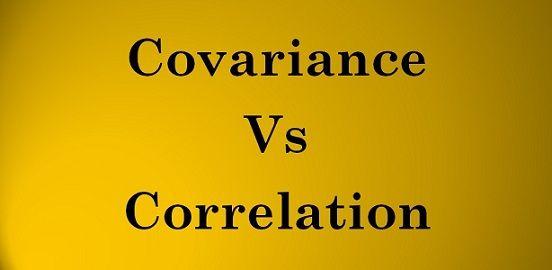 covariance vs correlation
