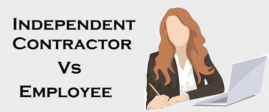 Difference Between Employee And Independent Contractor With